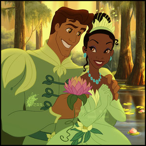 princess and the frog interracial